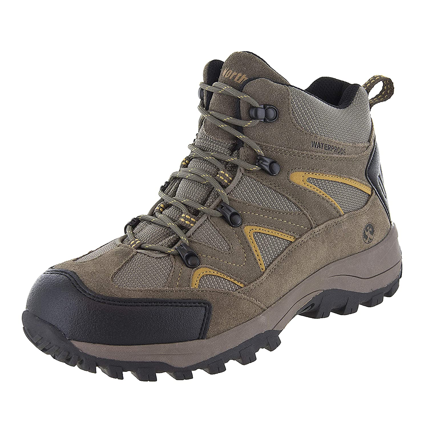 8a1300aa063 Northside Mens Snohomish Leather Waterproof Mid Hiking Boot
