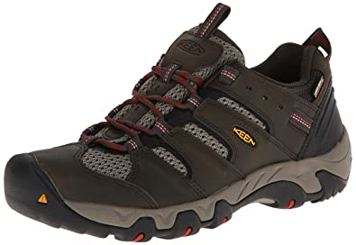 84f5d3d892 KEEN Men's Koven WP Hiking Shoe,Black Olive/Bossa Nova,7.5 ...