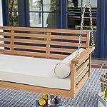 Belham Living Eucalyptus Wood Swing Bed