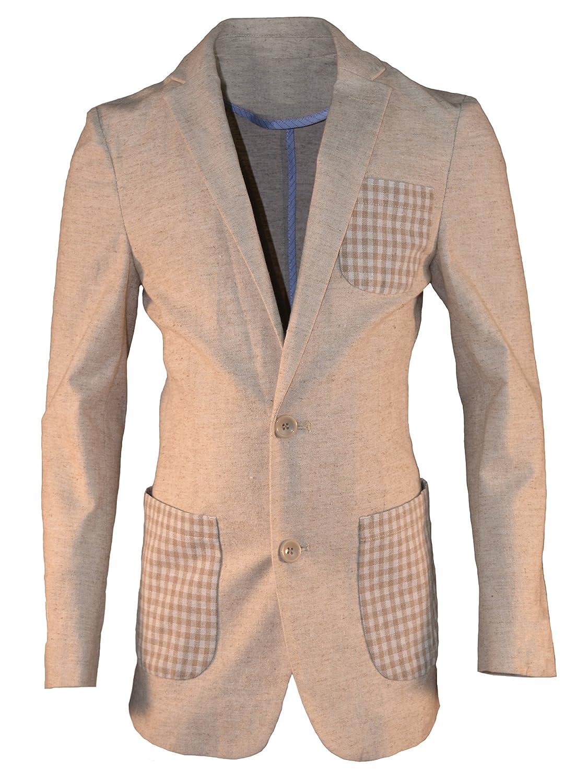 AXNY Isaac Mizrahi Boys Linen Blazer