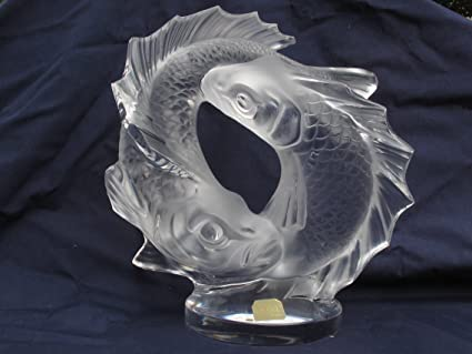 Amazon Lalique Two Poissons Quotdouble Fishquot 1162200