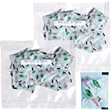 [100 Packs] 100 CC Premium Oxygen Absorbers(2 Bag of 50 Packets) - ISO 9001 Certified Facility Quality Guaranteed