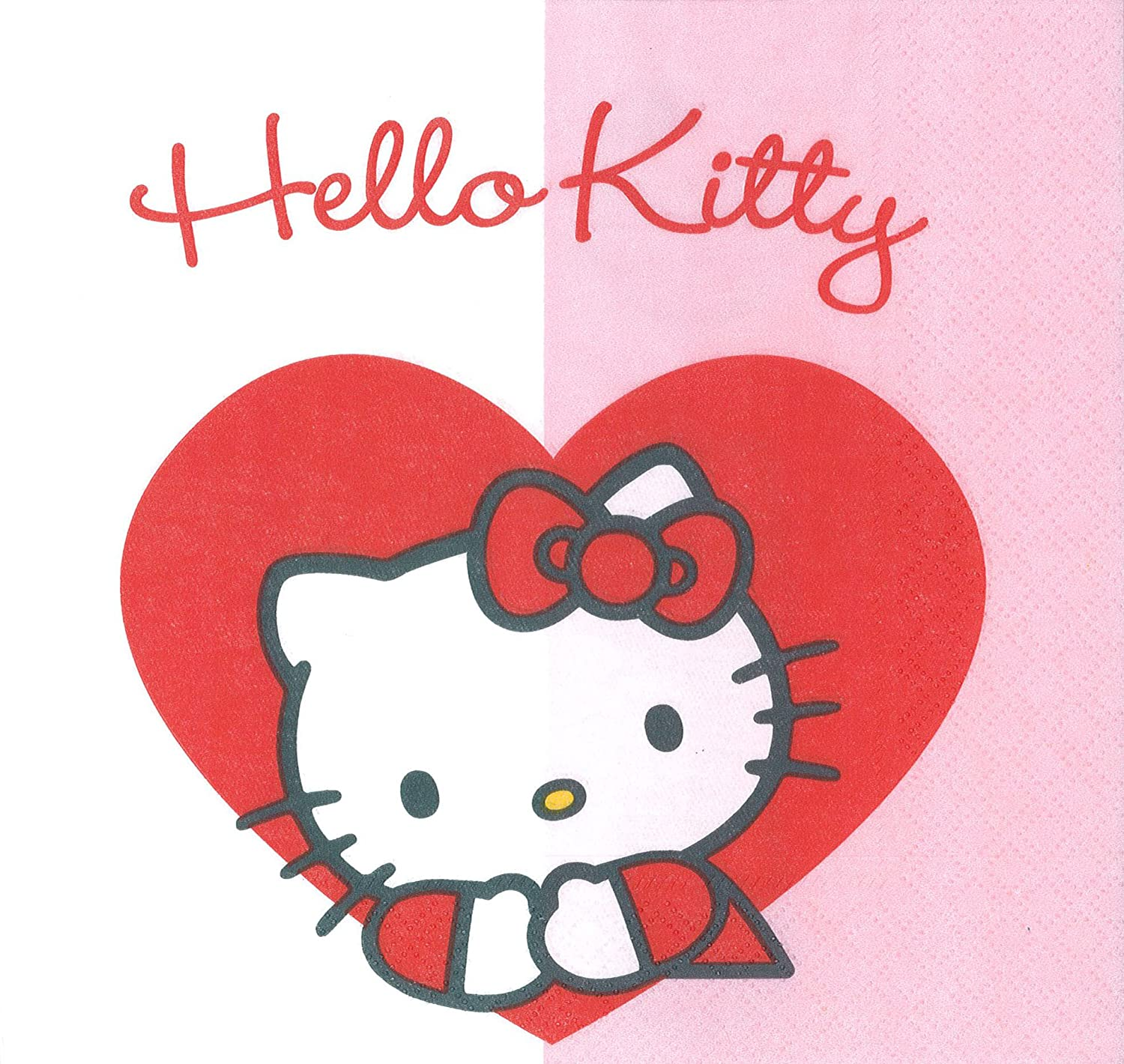 Hello Kitty - Papierservietten
