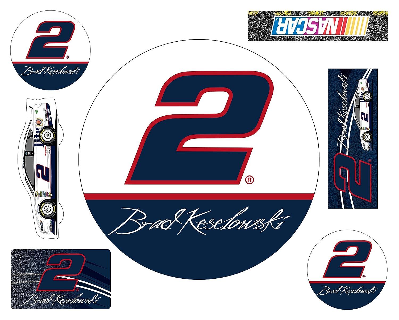 【最安値挑戦】 NASCAR # 2 Brad Keslowskiカーマグネット7 pc pc set-brad # set-brad Keslowski 7 pcマグネットセット B00U6GK84Q, シヅガワチョウ:cce1bb37 --- arianechie.dominiotemporario.com