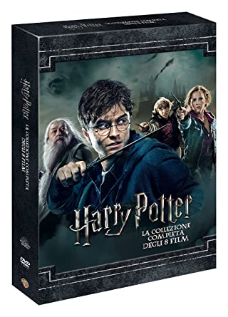 harry potter dvd boks