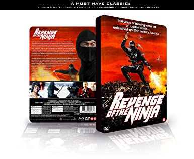 Revenge of the Ninja Combo pack DVD – BLURAY 3D embossing LIMITED ...