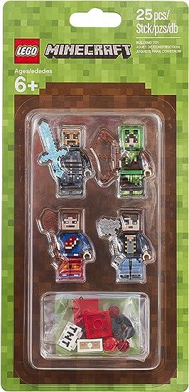 LEGO Minecraft Skin Pack 1 25pieza(s) Juego de construcción ...