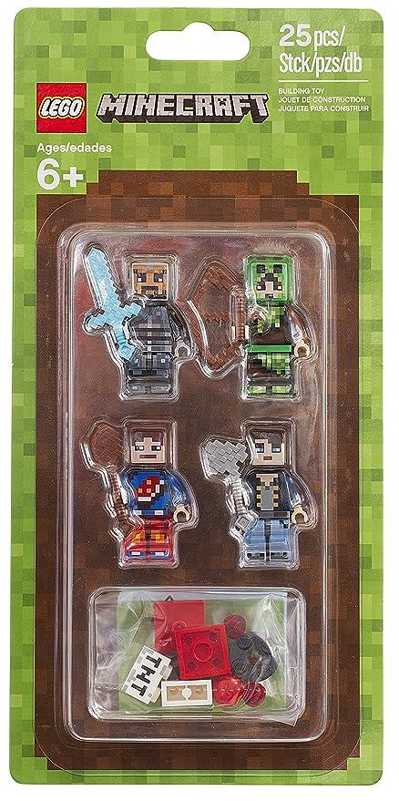 Amazoncom LEGO Minecraft Minecraft Skin Pack Buildinig - Skins para minecraft de one piece