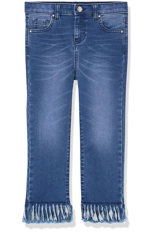 RED WAGON Jeans Bambina con Orlo Sfrangiato 2495