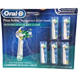 Oral B Floss Action Replacement Brush Heads, 5 Count