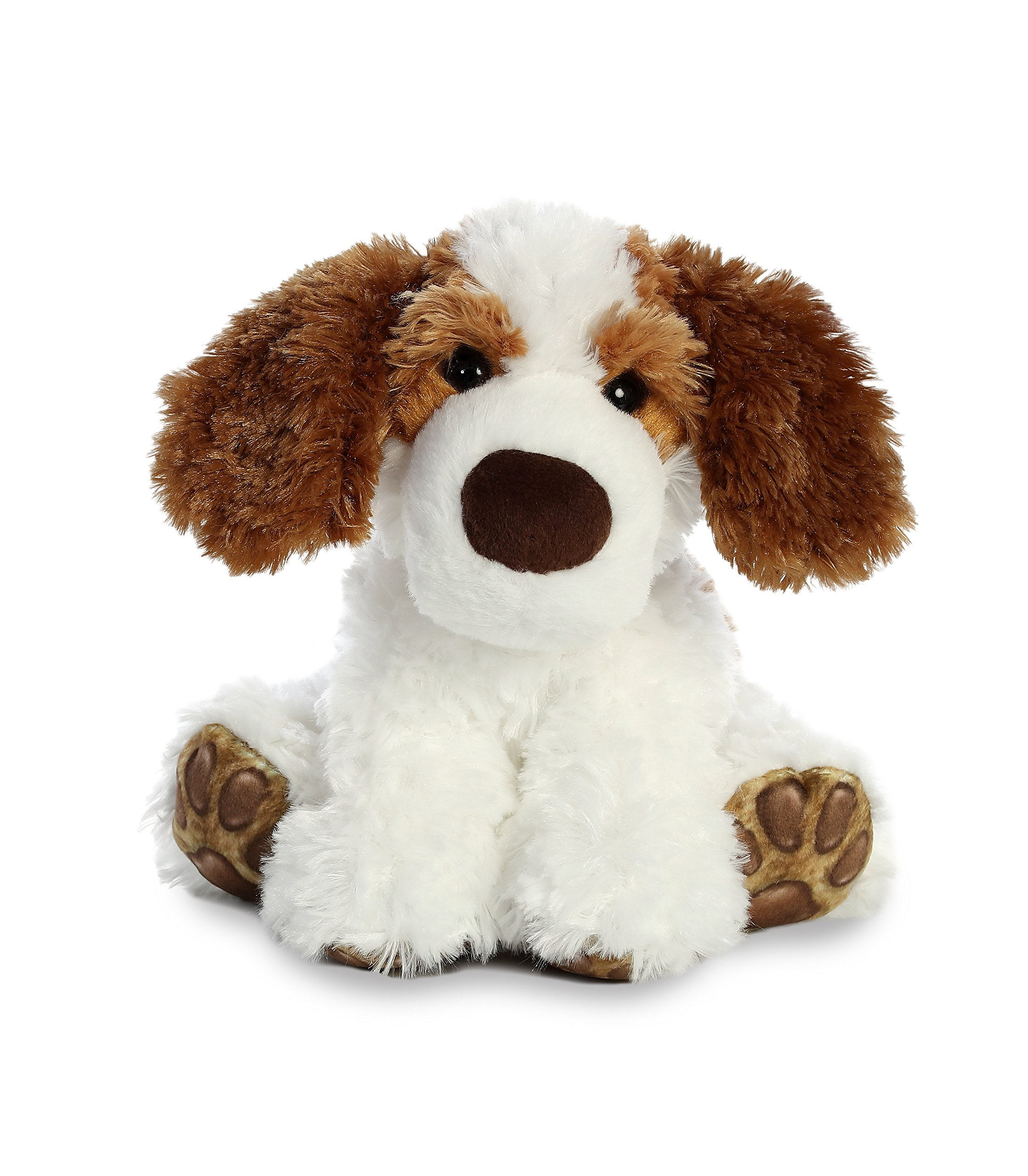 Aurora World Big Paws Plush Toy Animal, Benny Beagle