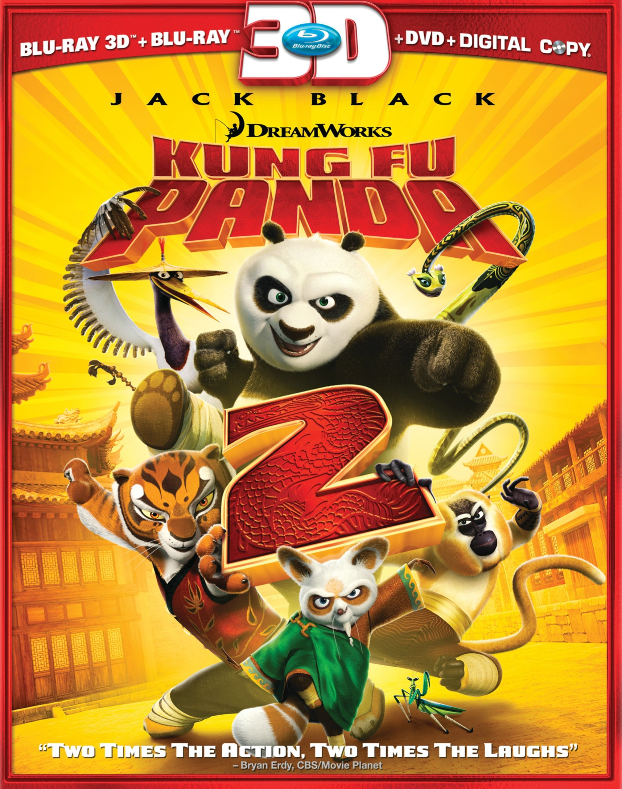 Kung Fu Panda 2 (Blu-ray 3D/DVD Combo + Digital Copy) by Paramount
