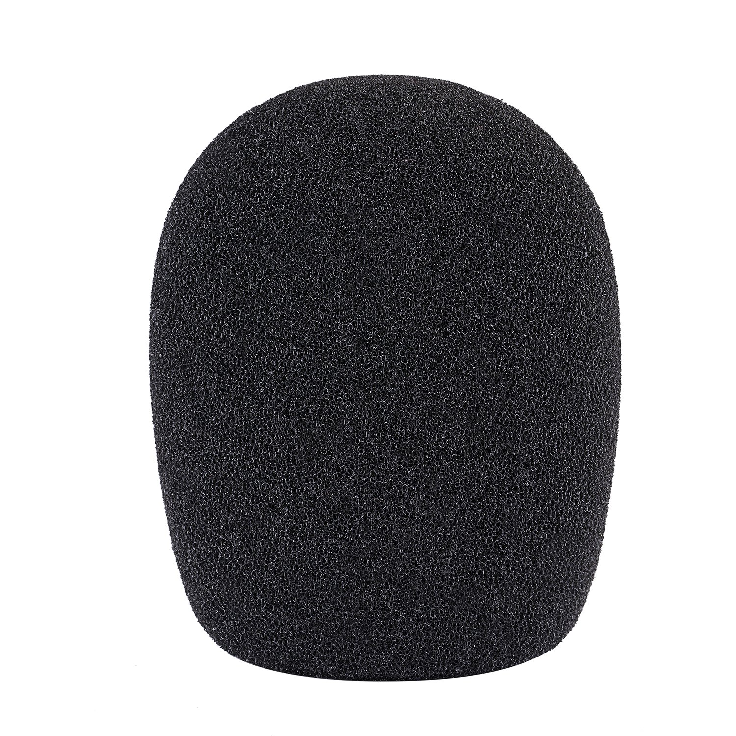 Neewer® Ball Type Foam Windscreen Pop Filter for Condenser Microphone,1.8 x 1.8 x 3.54/ 4.5cm x 4.5cm x 9cm , Black 40088463