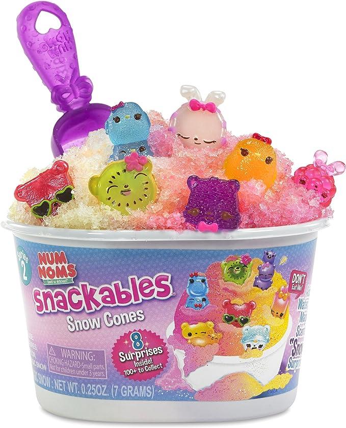 Num Noms Snackables Snow Cones Series 2-2 each surprise fun toy lot
