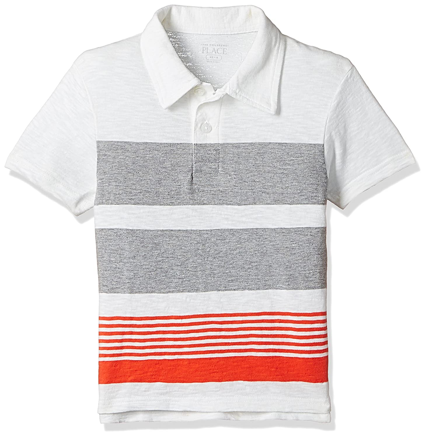 Amazon The Childrens Place Boys Striped Polo Shirt Clothing
