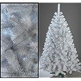180cm Künstlicher Weihnachtsbaum Tannenbaum Christbaum weiße Tanne Weihnachtsdeko