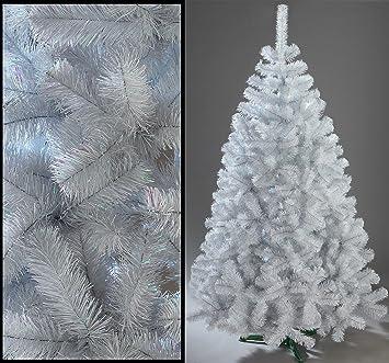 Künstlicher Weihnachtsbaum Weiß Mit Beleuchtung.Decoking 220cm Künstlicher Weihnachtsbaum Tannenbaum Christbaum Weiße Tanne Weihnachtsdeko