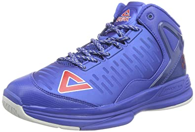 e08092bb7522 Peak Sport Europe Men s Peak Basketballschuh Tony Parker Tp9 Ii Basketball  Shoes blue Size  7