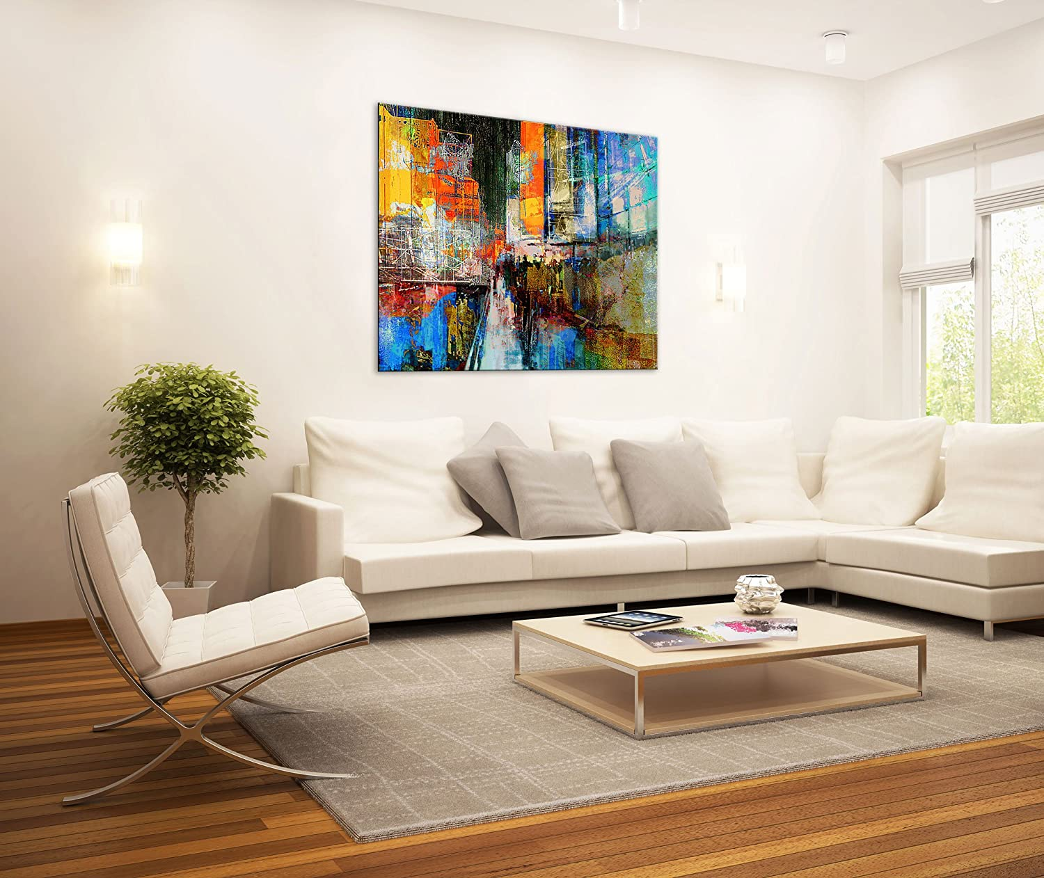 Large Canvas Print Wall Arth Cityscape Canvas Picture