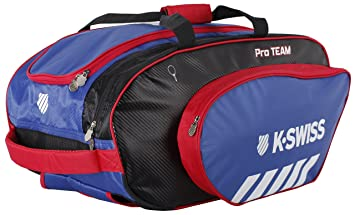 K-Swiss Hypercourt Pro Team Racket Holder Mochila, Tenis, Rojo,Azul,Negro, Talla Única: Amazon.es: Deportes y aire libre