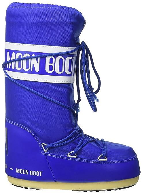 Moon-Boot 140044 00, Botas de Nieve Unisex Adulto, Rojo (Borgogna 074), 45/47 EU