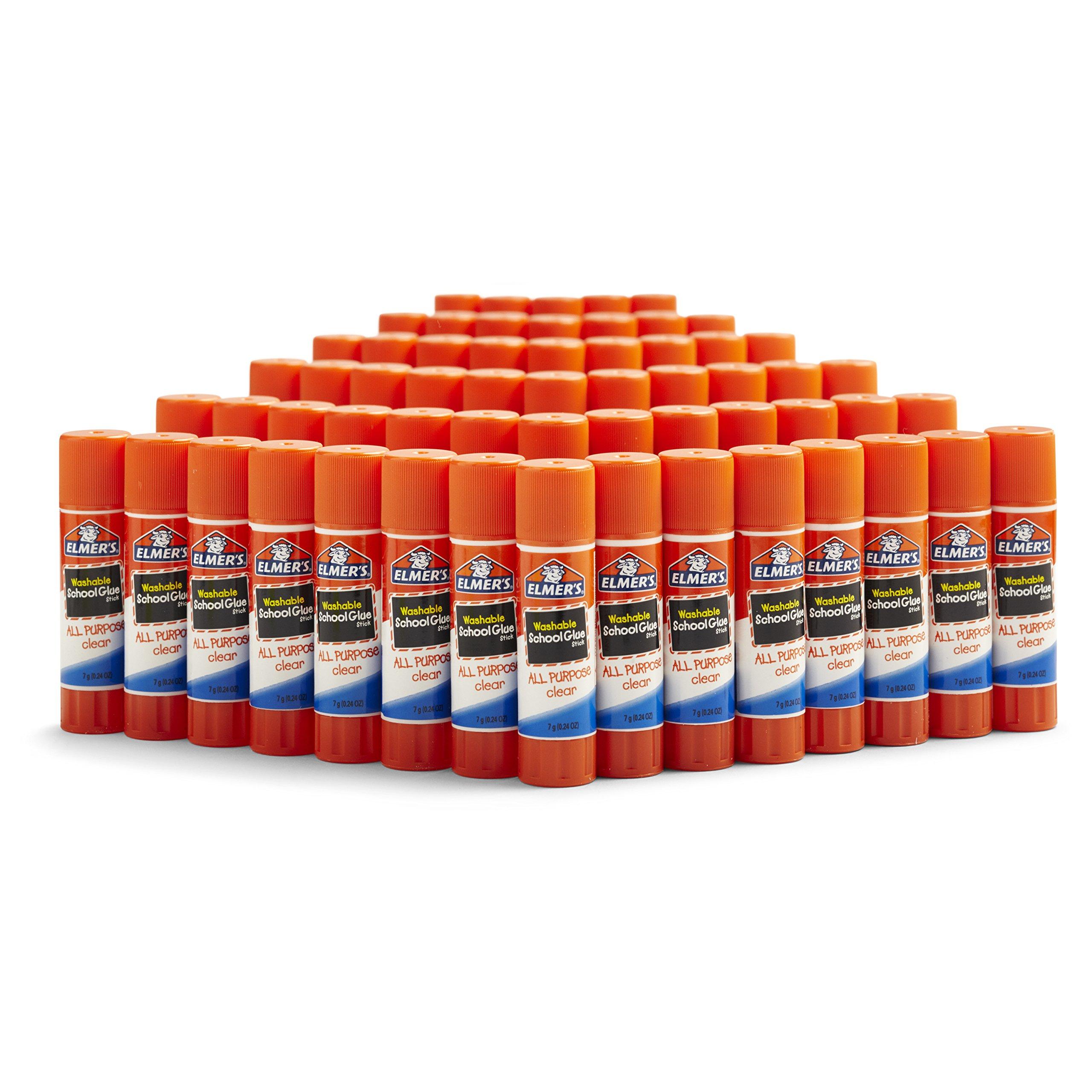Elmer's All Purpose School Glue Sticks, Washable, 60 Pack, 0.24-ounce sticks by Elmer's (Image #1)