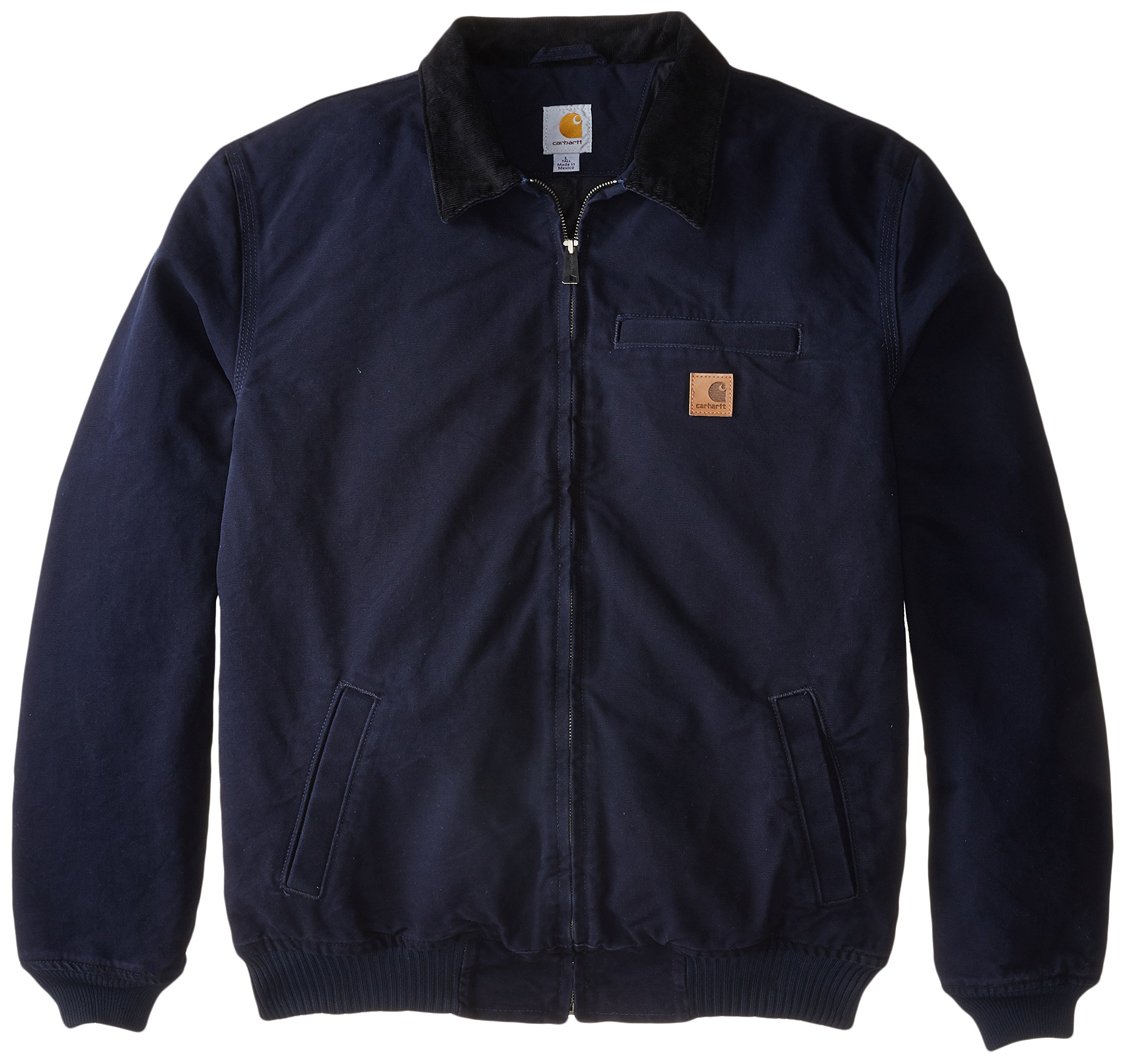 Carhartt Men's Big & Tall Bankston Jacket,Midnight,X-Large Tall