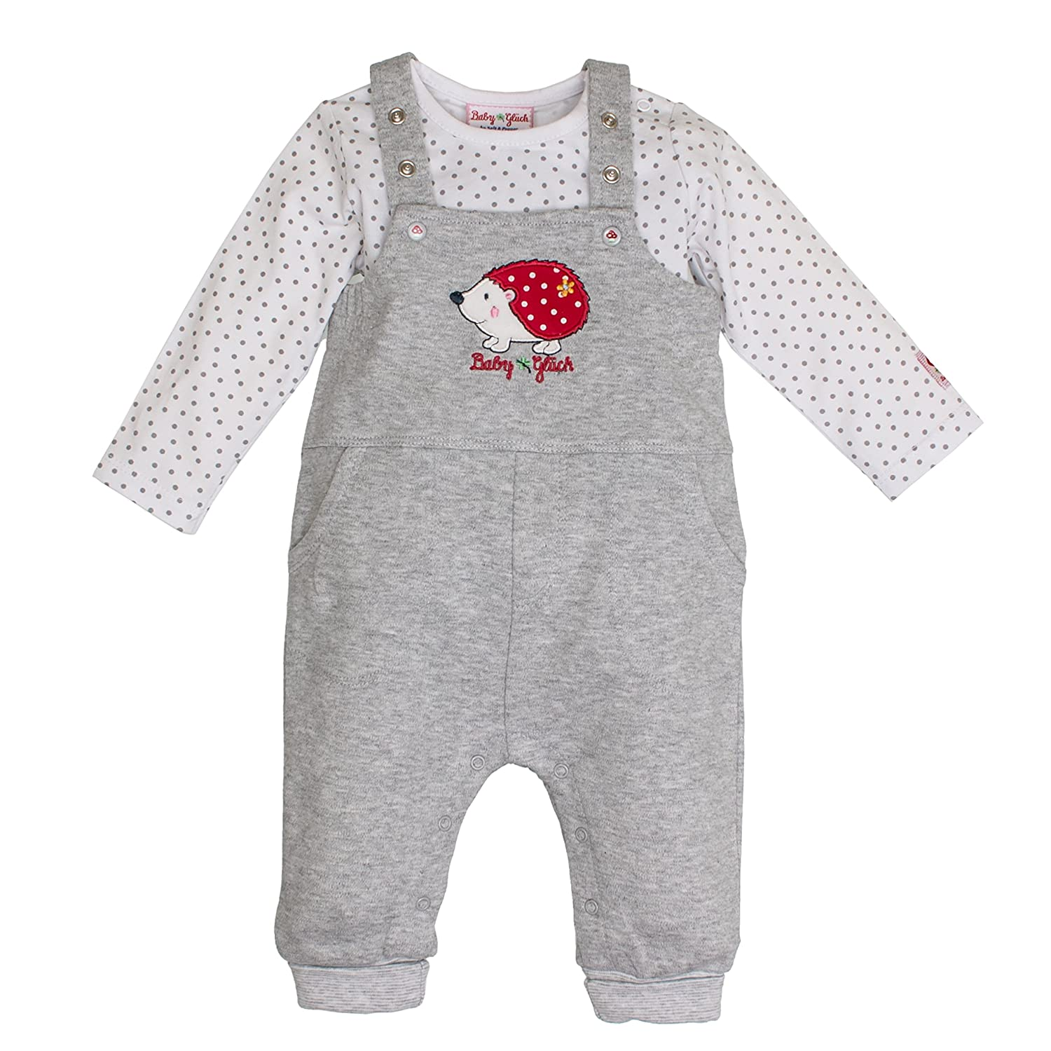 SALT AND PEPPER Baby-M/ädchen Bg Playsuit Allover K/äfer Strampler