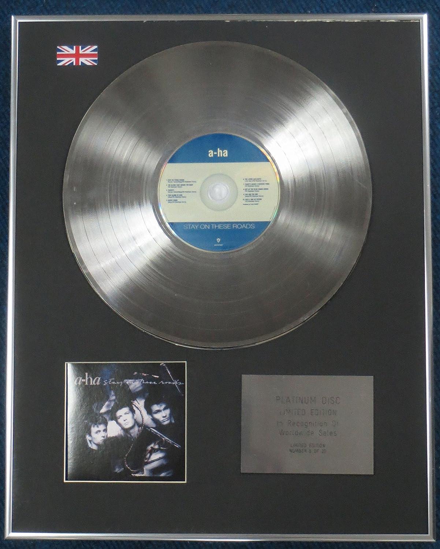 /Stay auf diesen Stra/ßen Century Presentations A-ha/ /Limited Edition CD Platinum LP Disc/