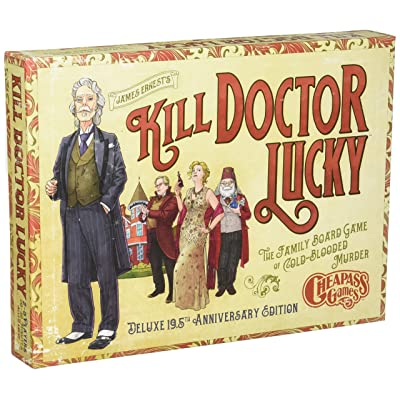 Cheapass Games Kill Doctor Lucky: Deluxe 19.5th Anniversary Edition: Toys & Games
