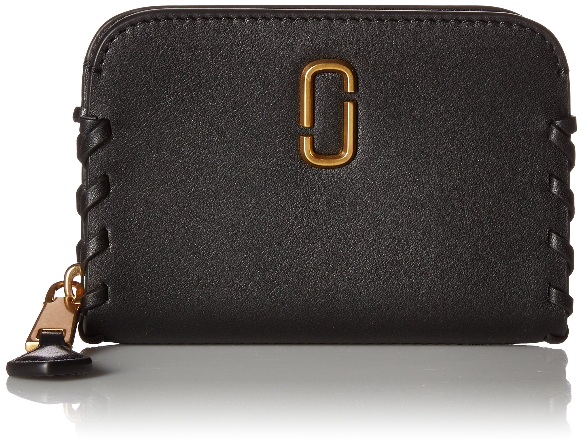Noho Zip Card Case Credit Card Holder, BLACK, One Size by Marc Jacobs