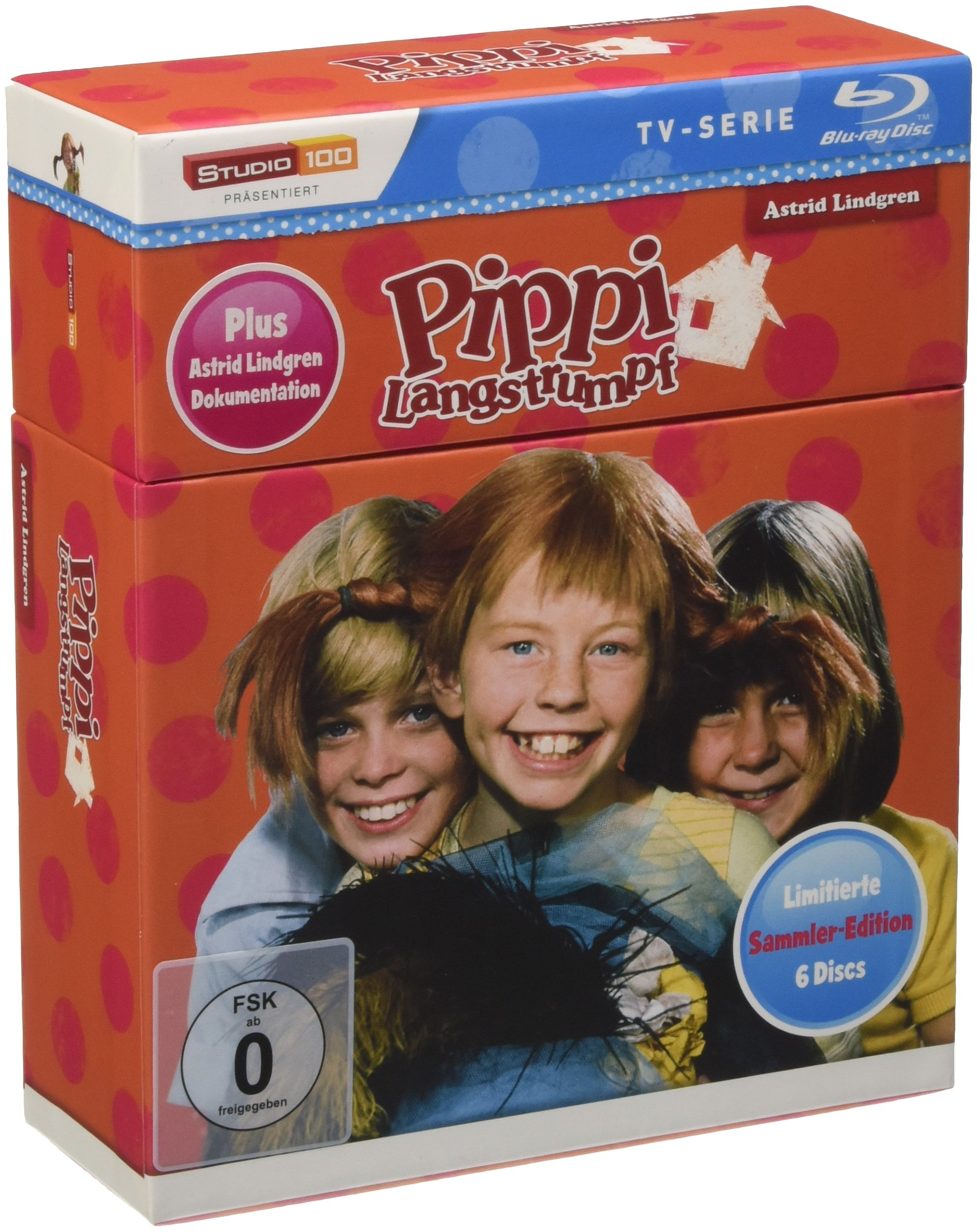 Pippi Langstrumpf TV-Serie Box by
