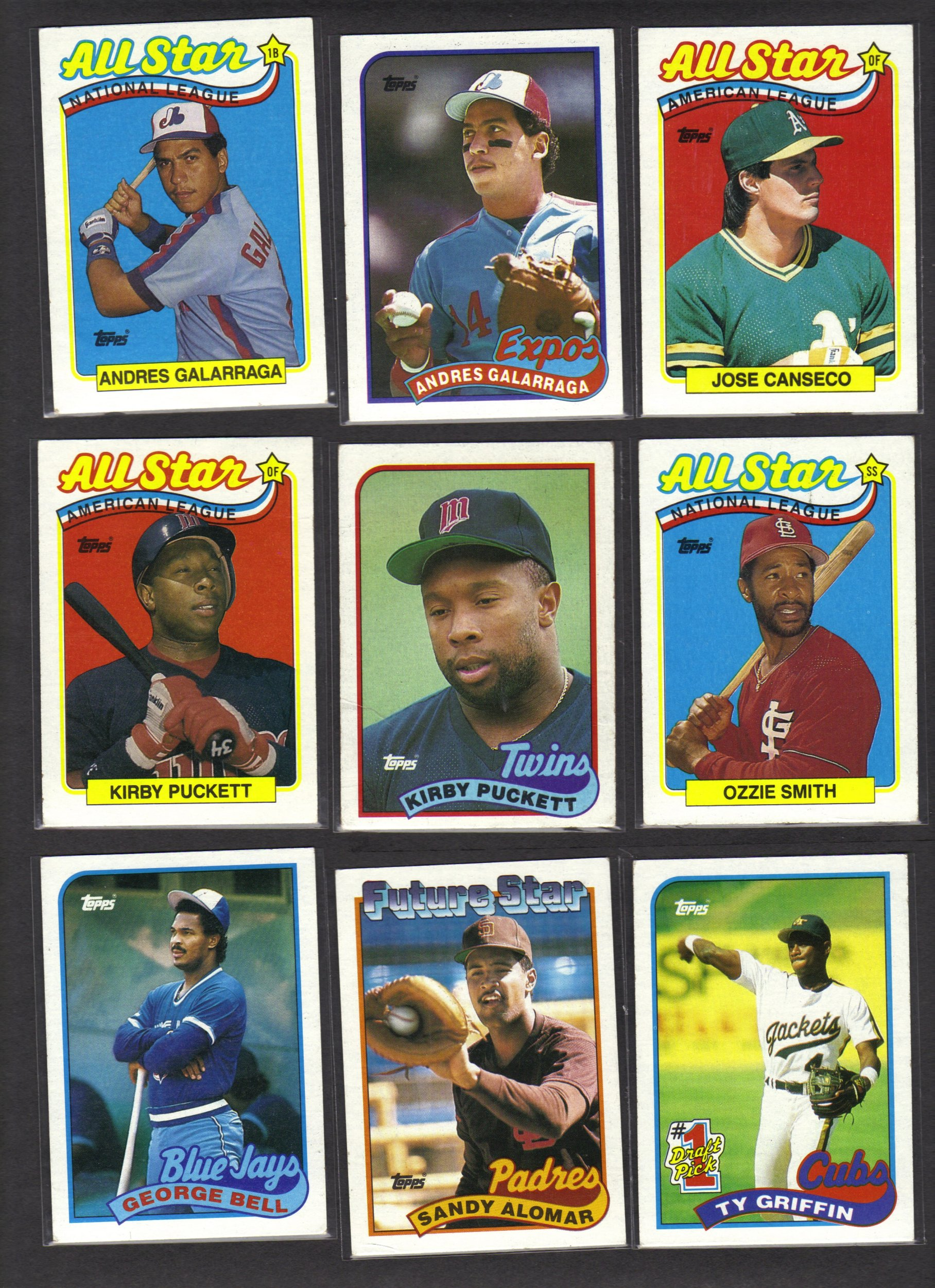 1989 Topps Baseball Cards Topps Amazoncom Books