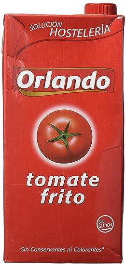 Orlando - Tomate Frito Clásico, 2 L - [Pack de 3]
