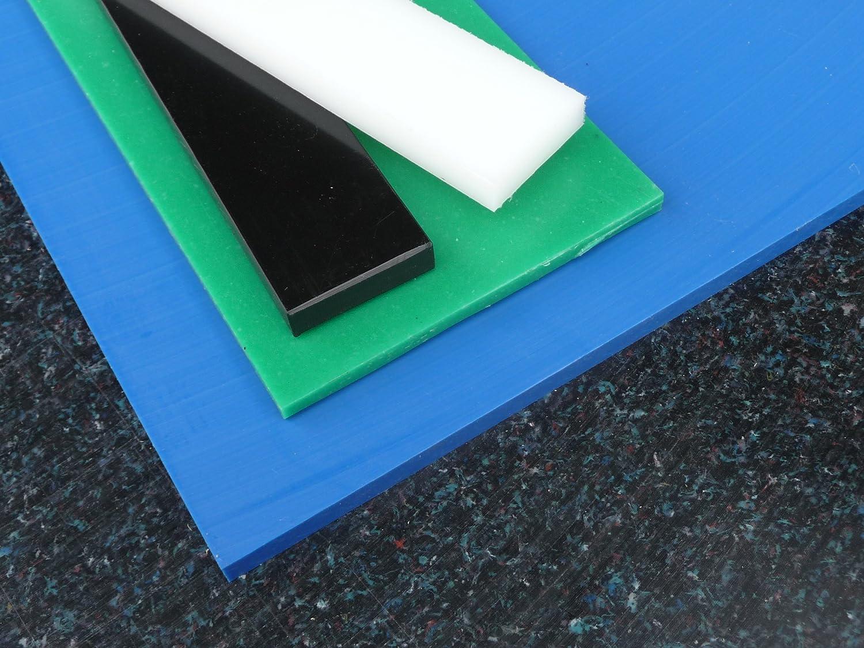 Lastre PE nero 1000 x 495 x 8 mm piastra PE-HD Pannello compatto alt-intech PE