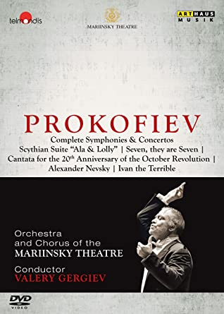 プロコフィエフ全集 (Prokofiev : Complete Symphonies & Concertos / Valery Gergiev & Mariinsky Theatre) [7DVD] [Live] [輸入盤] [日本語帯・解説付]