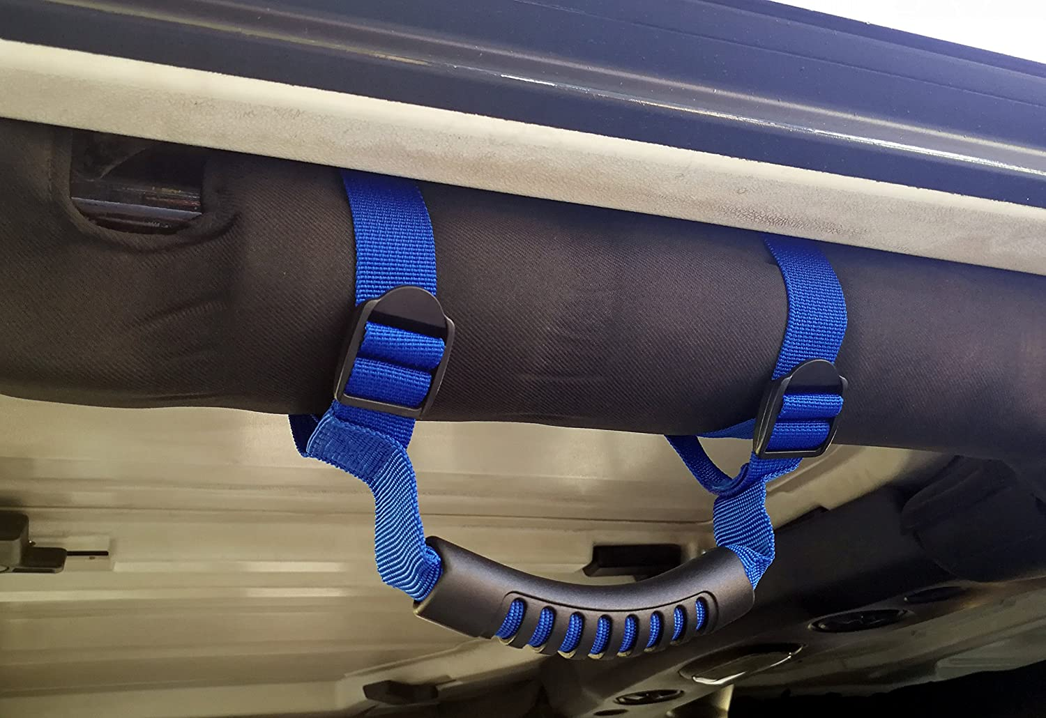 E-cowlboy Blue 4 X Grab Handles Grip Handle for Jeep Wrangler Yj Tj Jk JKU Sports Sahara Freedom Rubicon X /& Unlimited X 2//4 Door 1995-2016 Blue