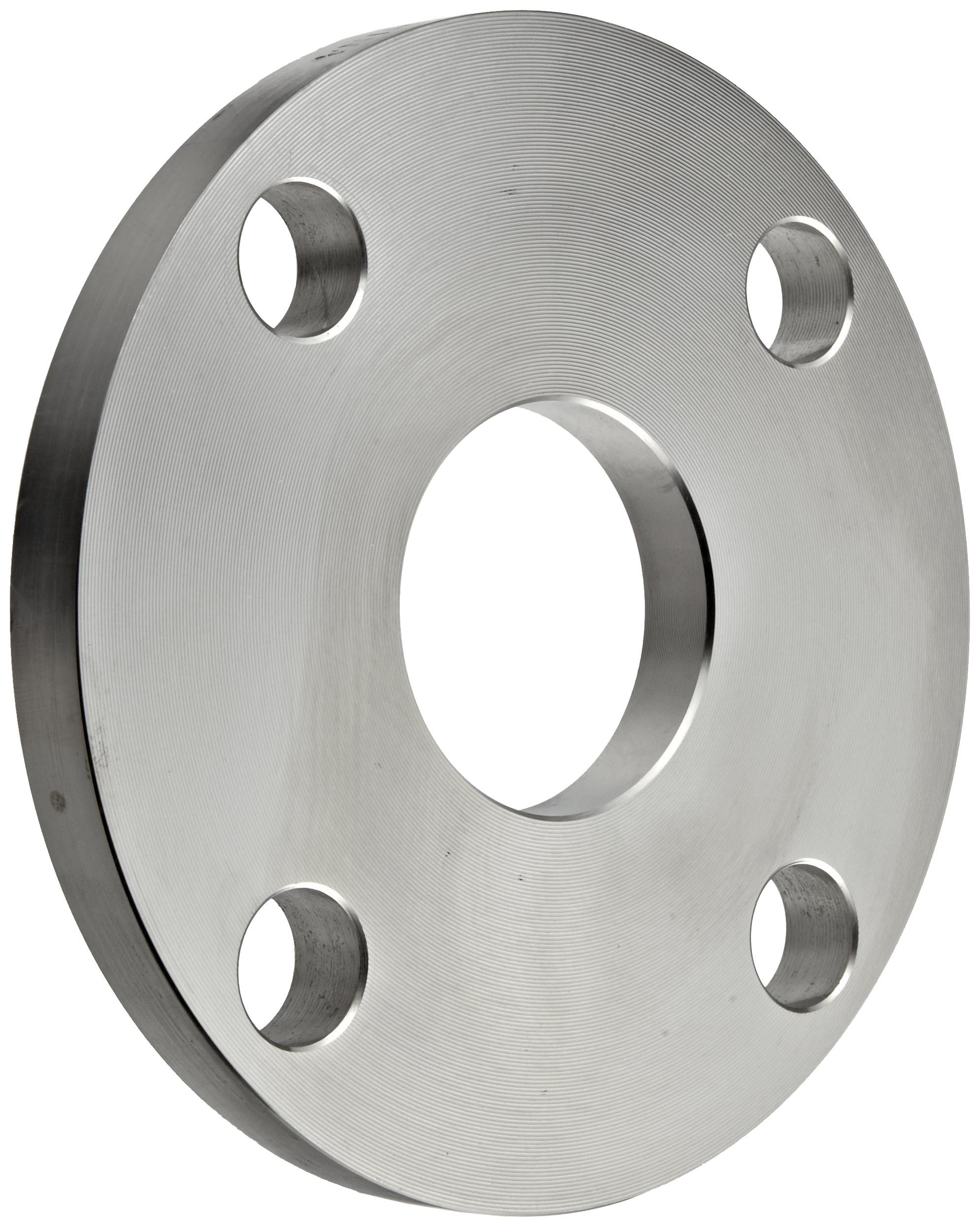 Stainless Steel 304/304L Plate Tube OD Pipe Fitting, Flange, Slip-On, Class 150, 12'' Pipe Size