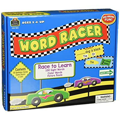 Teacher Created Resources Word Racer Game (7811): Office Products