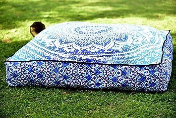 Aakriti Gallery   Housse pour coussin rond de méditation   À