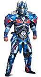 Disguise Men's Optimus Prime Movie Deluxe Adult Costume