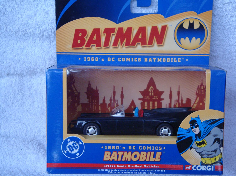 Corgi DC Miami Mall Comics 1960's Batmobile Sales results No. 1 43 Diecast Scale Wit Detailed