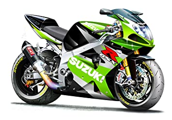 Amazon Com Gsxr 1000 Lime Green Suzuki Motorcycle Wall Decal 4ft