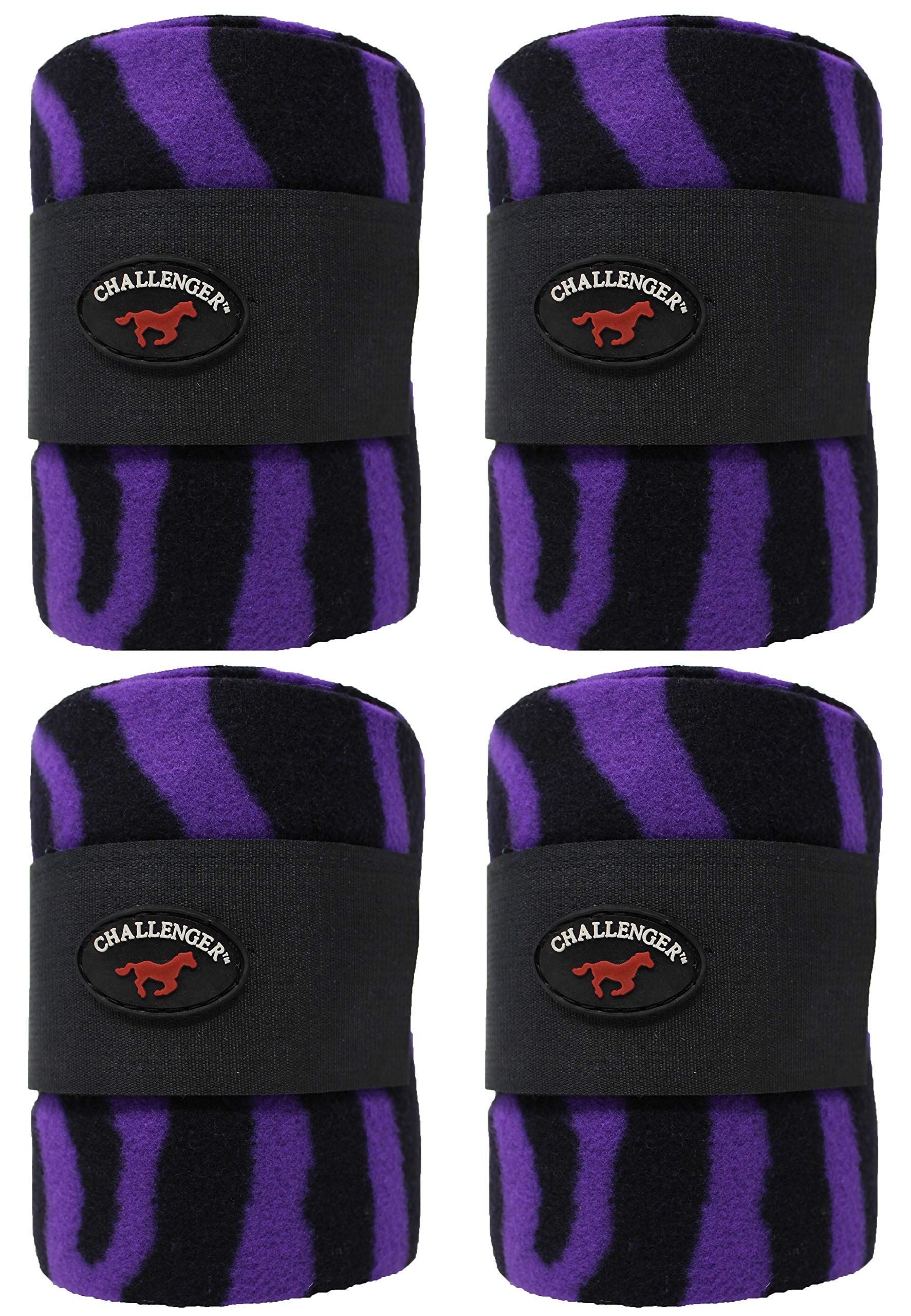 CHALLENGER Horse Tack Grooming Leg Set of 4 Polo Wrap 95R29