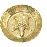 Discount4product Brass Metal Turtle and Pate for goodluck and Wealth