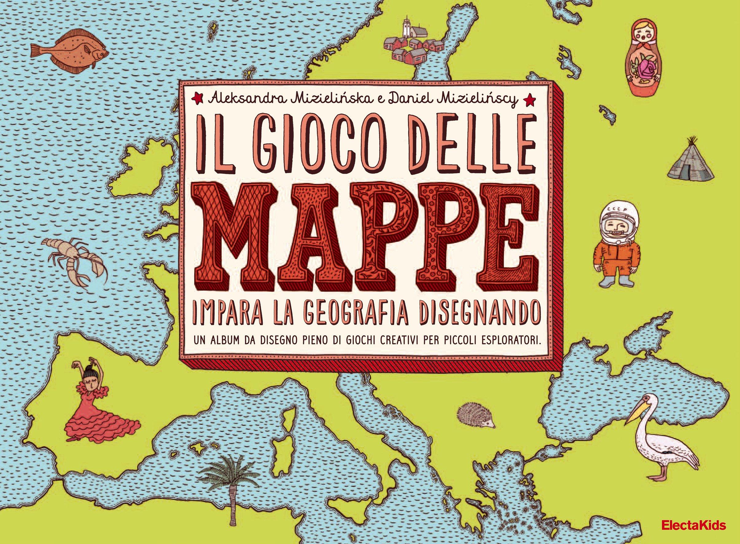 Super Il gioco delle mappe. Impara la geografia disegnando: Amazon.it  UD44