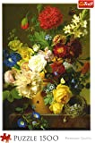 Trefl Puzzle Still Life with Flowers (1500 Pieces)