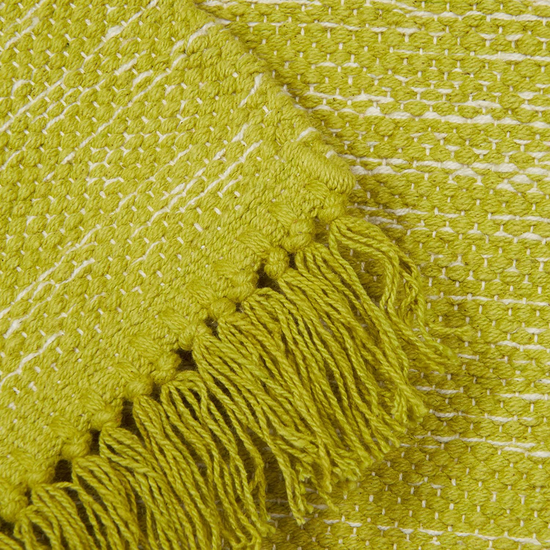 200 x 80 cm Sfumato Tessitura Piatta Relaxdays 10021174 /_704 Tappeto Passatoia Tessuto a Mano Verde