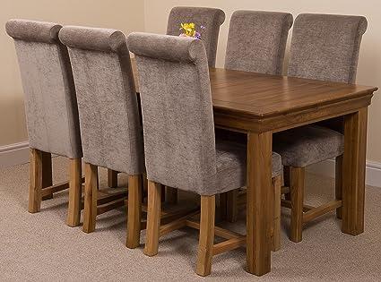 Tavolo Da Pranzo In Francese : Modern furniture direct francese rustico cm set da pranzo in