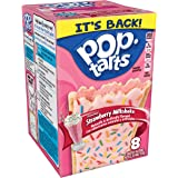 Pop-Tarts Frosted Strawberry Milkshake Toaster Pastries, 8 ct